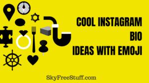 cool instagram bio ideas with emoji