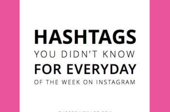instagram hashtags everyday