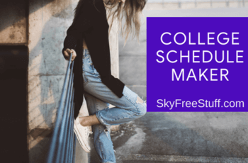 free class schedule maker and msu schedule builder 2018
