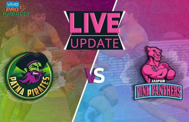 Patna pirates vs Jaipur Pink Panthers