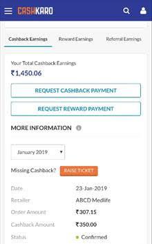 Medlife new offer - Earn 75 cashback on Order 2
