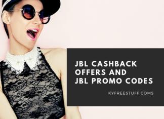 JBL Cashback Offers and JBL Promo Codes