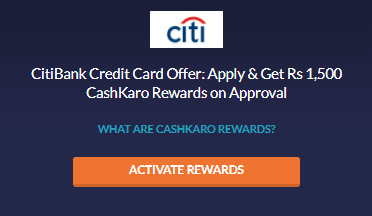 Citibank Credit Card offers