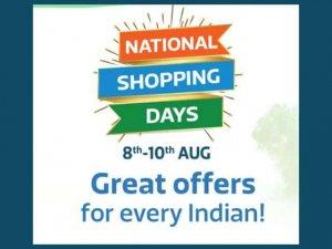 Flipkart National Shopping Days- Upto 90% Off 3