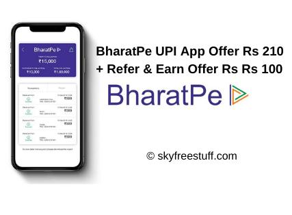 Bharatpe UPI App Referral Link