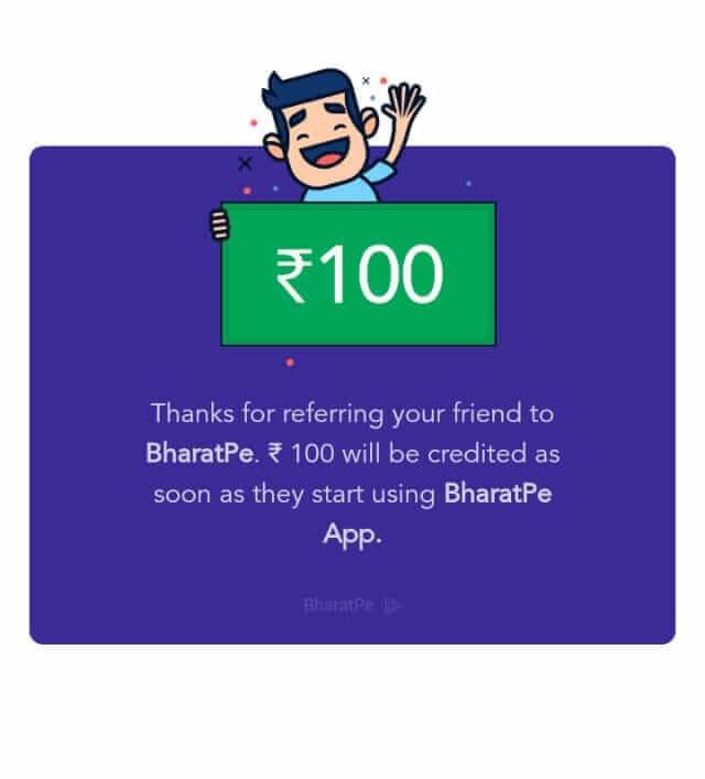 Bharatpe UPI App Referral Link & Refer And Earn Offer